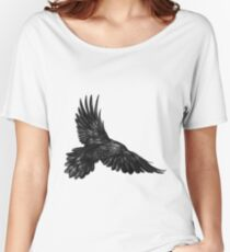Raven in flight Women's Relaxed Fit T-Shirt