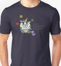 I AM A NONPROFIT UNICORN! Unisex T-Shirt