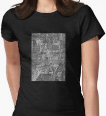 Step Lyrics Womens Fitted T-Shirt