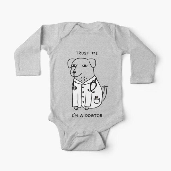 Dogtor Long Sleeve Baby One-Piece