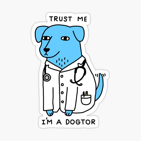 Dogtor Sticker