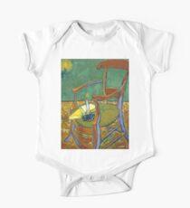 1888-Vincent van Gogh-Gauguin's chair-72,5x90,3 Kids Clothes