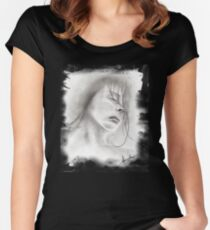 Clouded Mind Women's Fitted Scoop T-Shirt