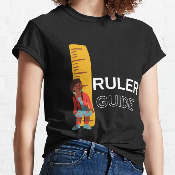 Alignment Ruler T Shirts Redbubble