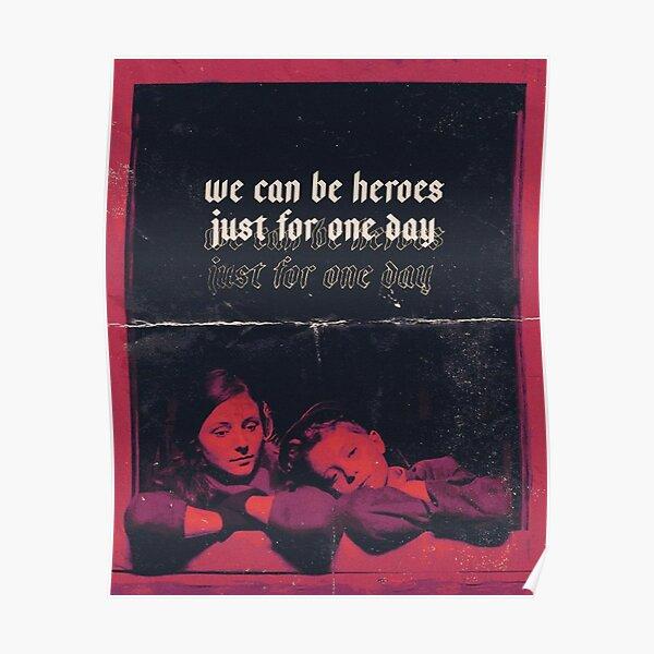«Nous pouvons être des héros ...» - Jojo Rabbit Poster