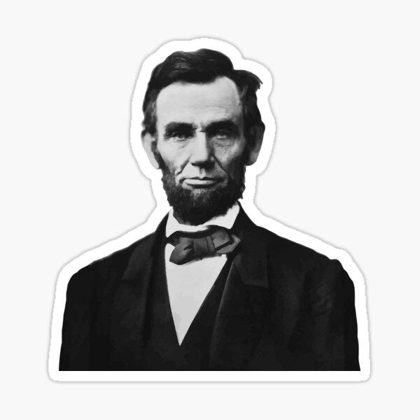 President Abraham Lincoln Sticker