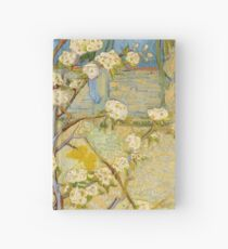 1888-Vincent van Gogh-Small pear tree in blossom-46x73 Hardcover Journal