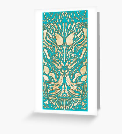 Dino Bones 2 Greeting Card