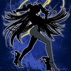 Super Smash Bros. Bayonetta (Default) Silhouette by jewlecho