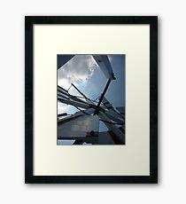 Where the sails turn (Hornsey Windpump)  Framed Print