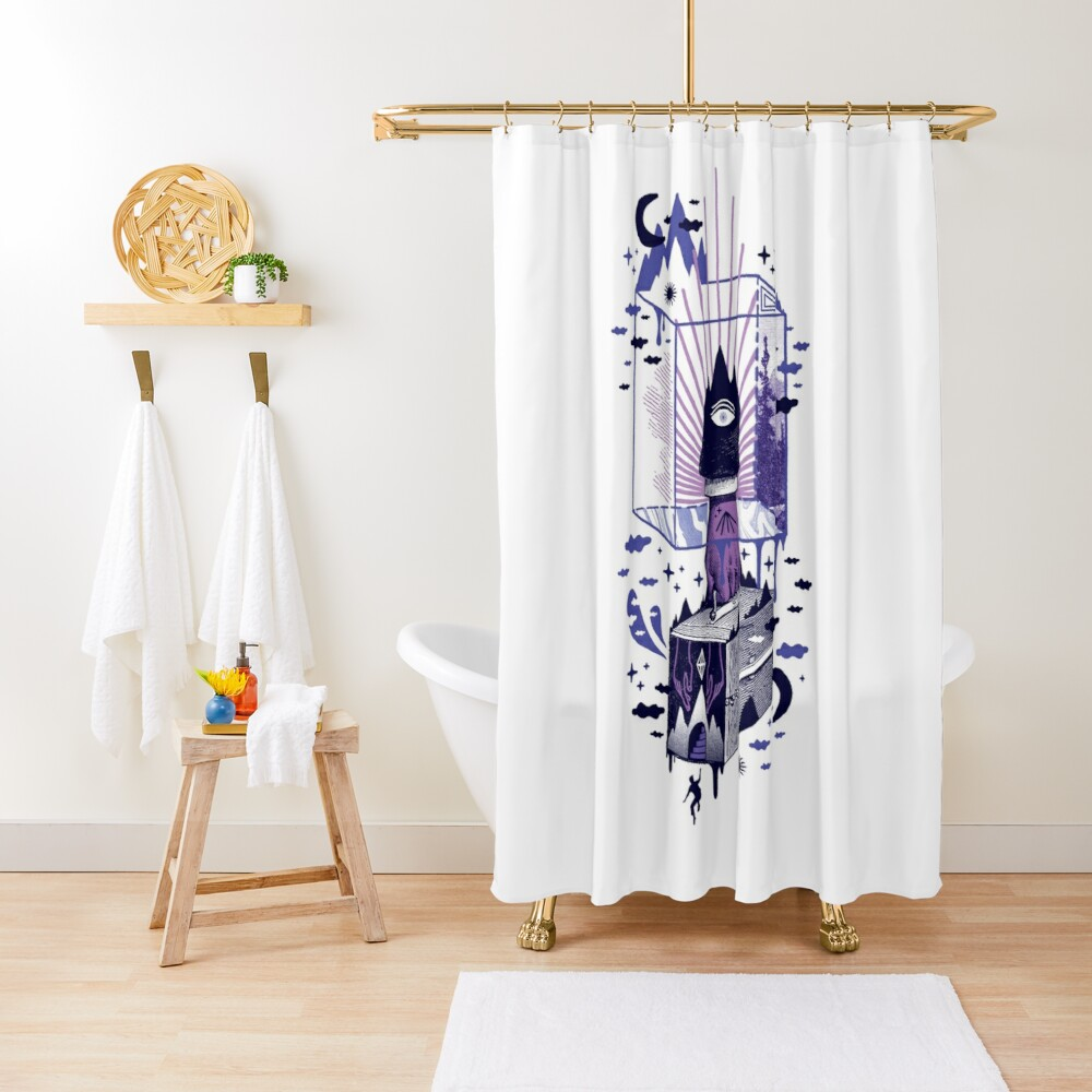 Nonsensical Shower Curtain