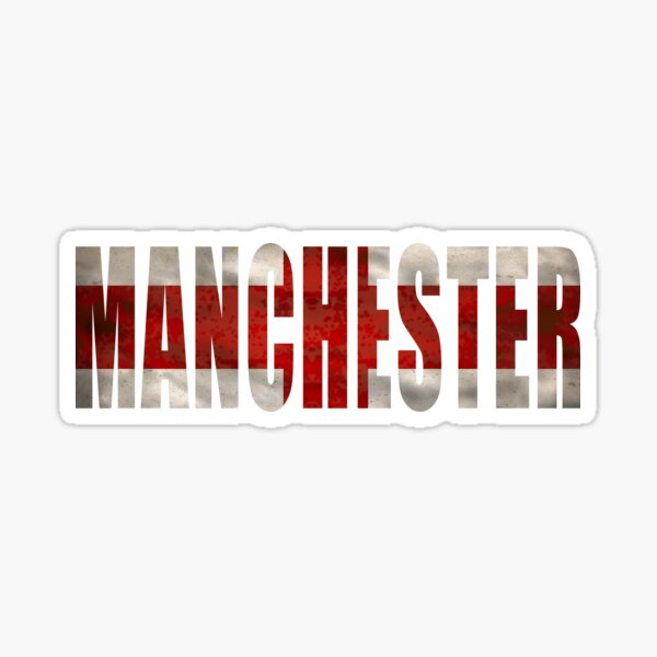 Manchester City FC England Great Britain Sticker