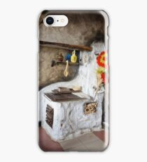 Old kitchen in a cottage  iPhone Case/Skin