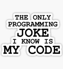 Programmer des blagues est cool, non? Sticker