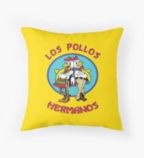 Los Pollos Hermanos Throw Pillow