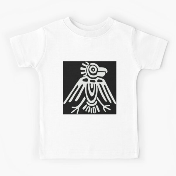 Mayan Icons: Aztec Drawing Kids T-Shirt