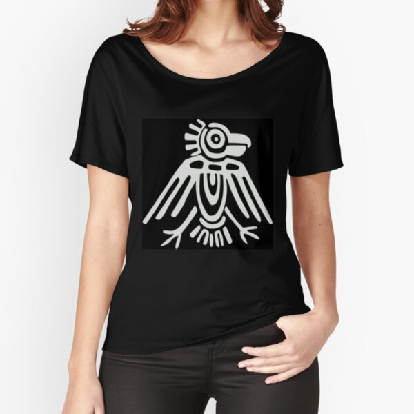 Mayan Icons: Aztec Drawing Relaxed Fit T-Shirt