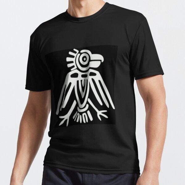 Mayan Icons: Aztec Drawing Active T-Shirt