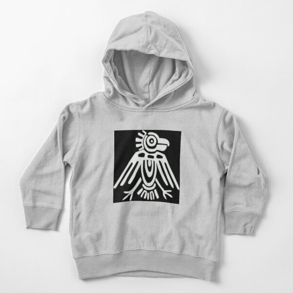 Mayan Icons: Aztec Drawing Toddler Pullover Hoodie