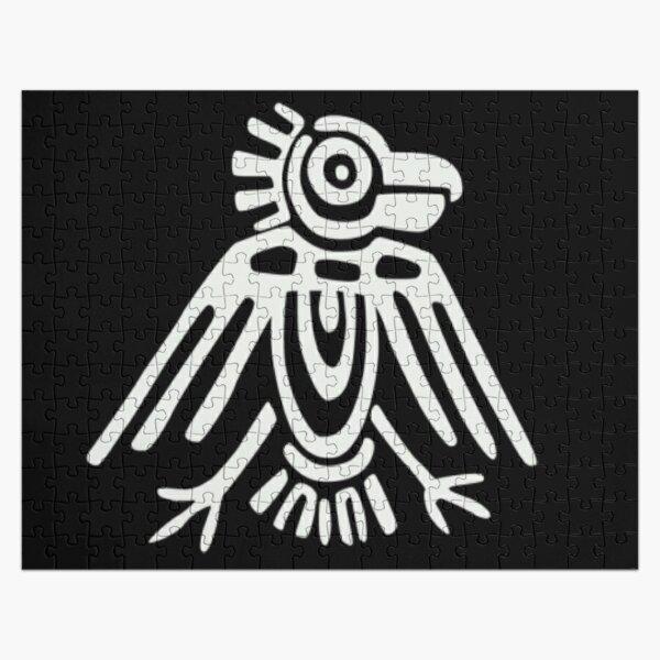 Mayan Icons: Aztec Drawing Jigsaw Puzzle