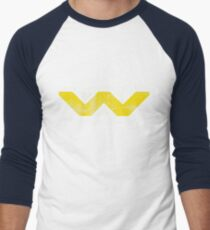 Weyland Yutani (Scuffed logo) Men's Baseball ¾ T-Shirt