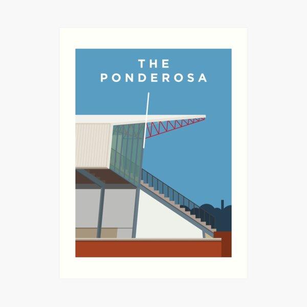 The Ponderosa Art Print