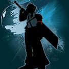 Super Smash Bros. Teal Advent Cloud Silhouette by jewlecho