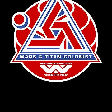 Alien Mars & Titan Colony Logo by Pango