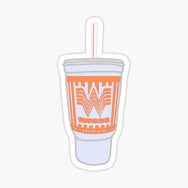 Whataburger Cup Sticker