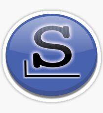 Slackware logo Sticker