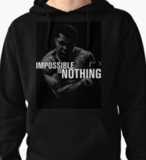 "Mohamed Ali ""impossible is nothing"" Pullover Hoodie"