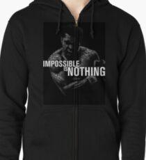 """Mohamed Ali """"unmöglich ist nichts"""" Kapuzenjacke"""