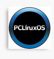 pc linux os logo Canvas Print
