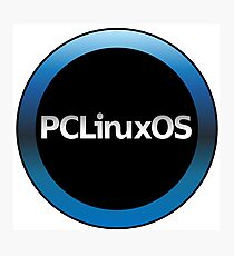 pc linux os logo Photographic Print