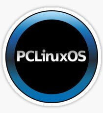 pc linux os logo Sticker