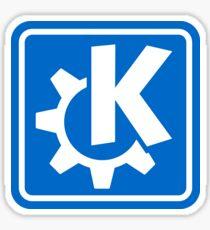 KDE logo Sticker