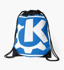 KDE logo Drawstring Bag