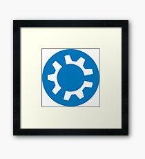 kubuntu logo Framed Print