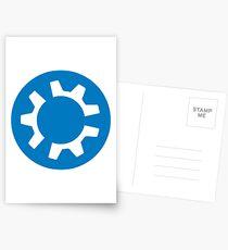 kubuntu logo Postcards