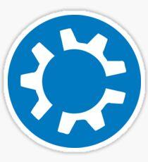 kubuntu logo Sticker