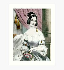 Fanny - 1846 - Currier & Ives Art Print