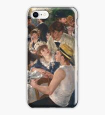 Auguste Renoir - Luncheon of the Boating Party 1880-1881 Woman Portrait iPhone Case/Skin