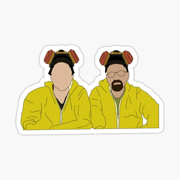 Breaking Bad - Walt & Jesse Sticker
