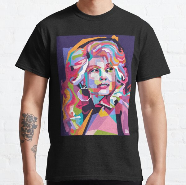 Abstract Dolly Parton in WPAP Classic T-Shirt