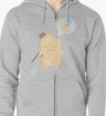 Old  pastry Zipped Hoodie