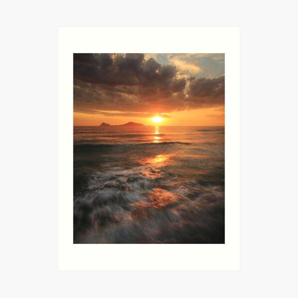 Whisky Bay Sunset Art Print