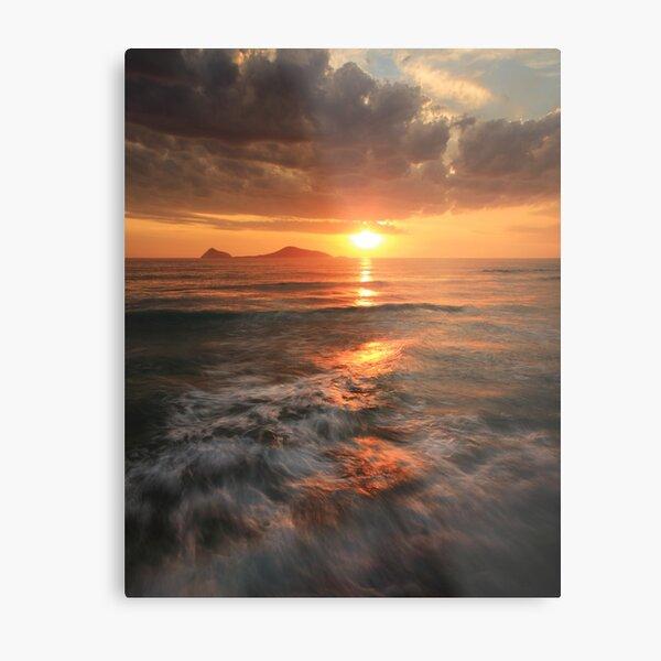 Whisky Bay Sunset Metal Print