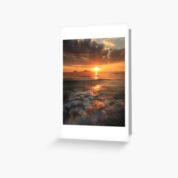 Whisky Bay Sunset Greeting Card