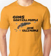Space Guns don't kill People T-Shirt