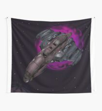 Space, wormholed Wall Tapestry